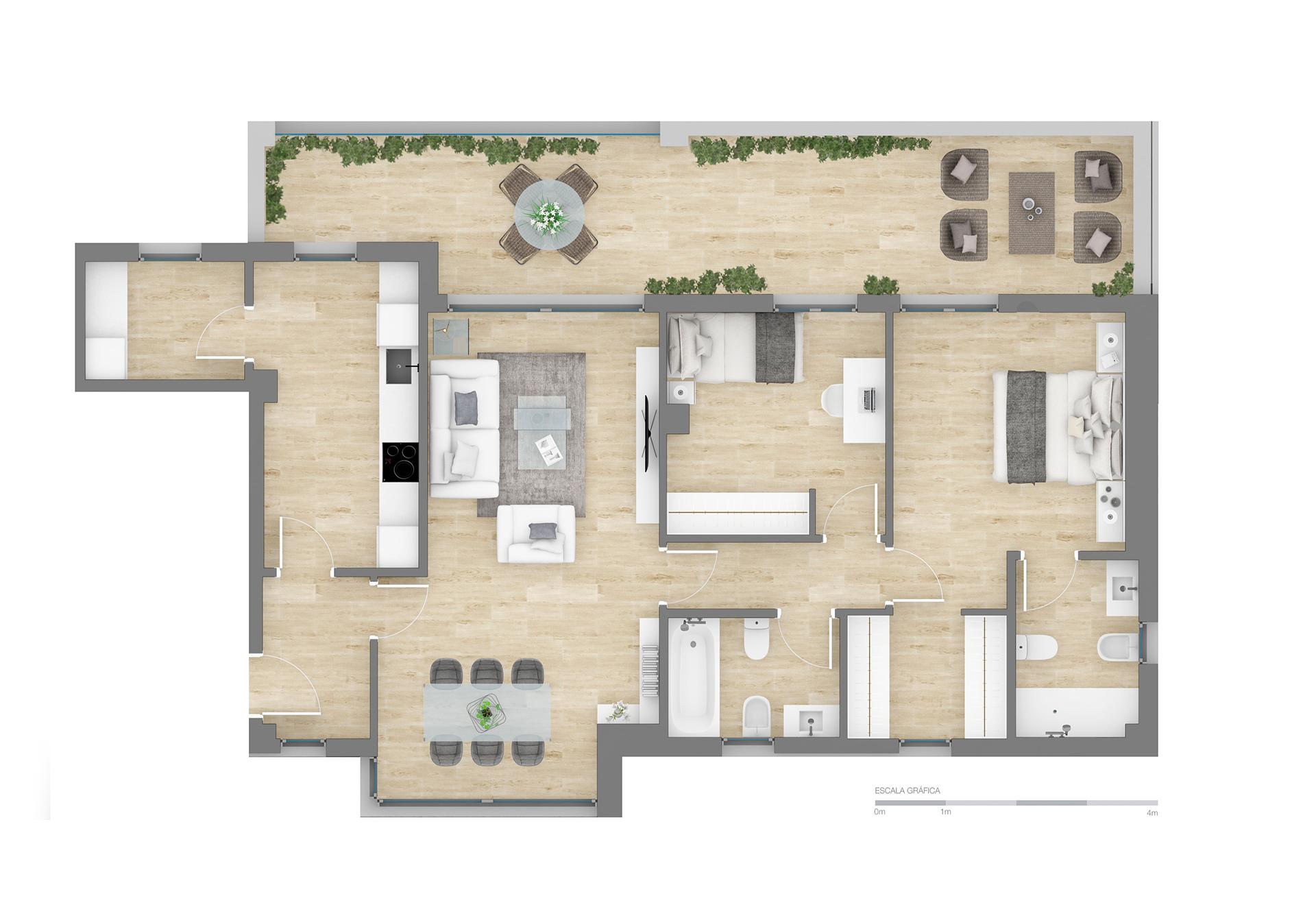 Altos de PozoAlbero | 2 Dormitorios