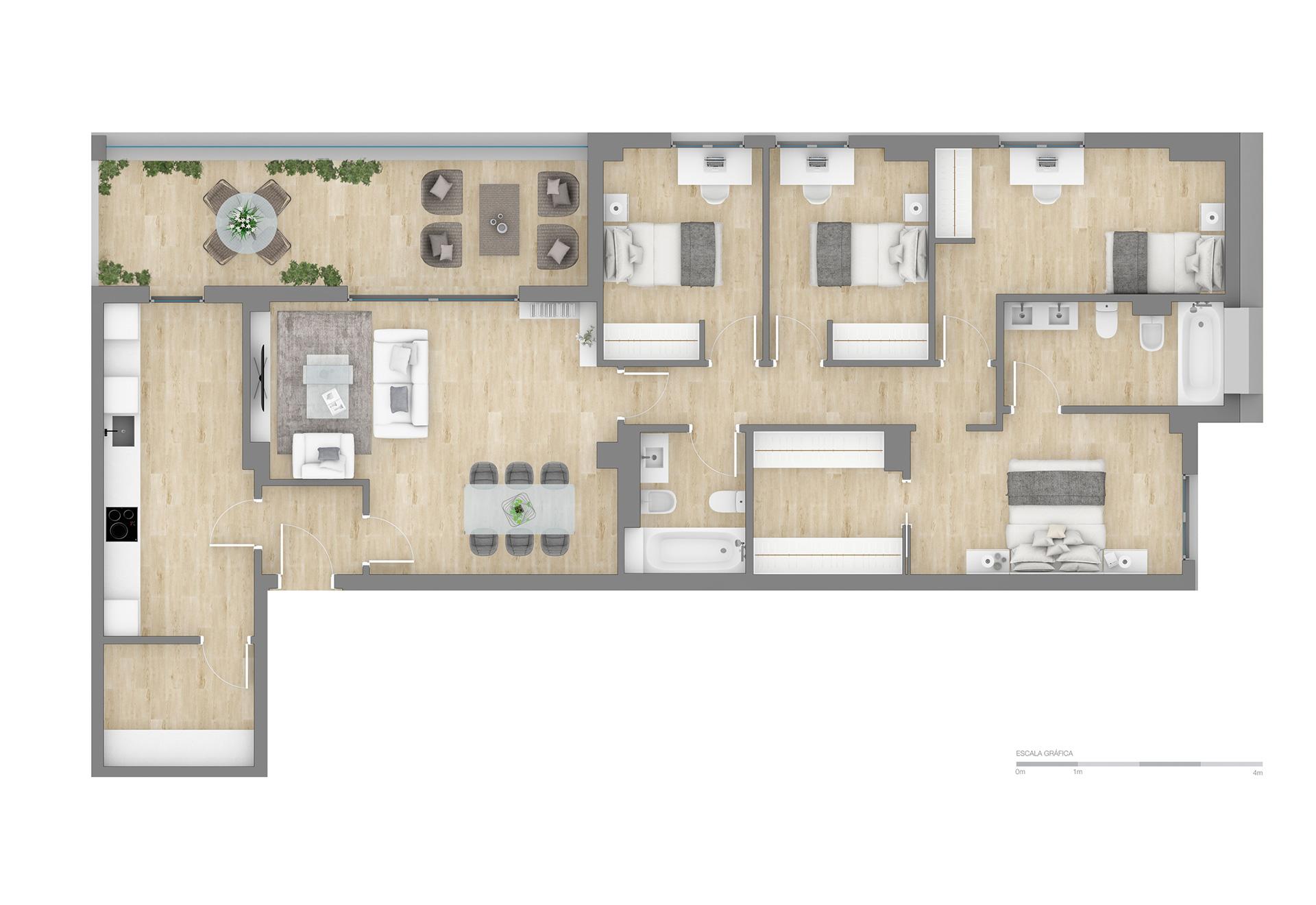 Altos de PozoAlbero | 4 Dormitorios